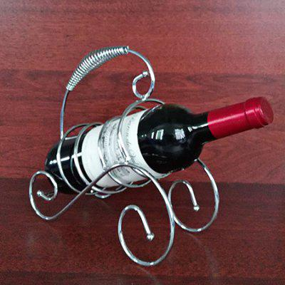 Creative Decoration Iron Wine Rack