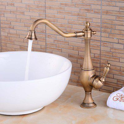 LING HAO HL - 117 Single Handle Chrome Sink Faucet