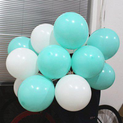 White Blue Latex Balloon for Party Decoration 20PCS