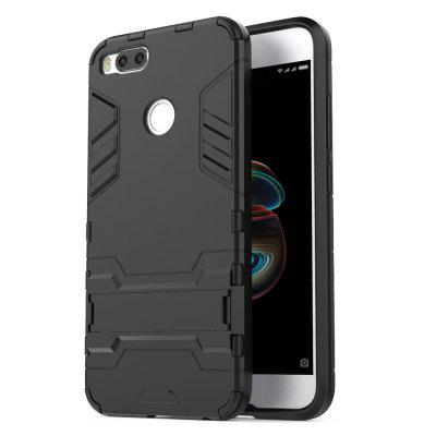 Luanke 2 in 1 Bracket Protective Cover for Xiaomi Mi A1Cases &amp; Leather<br>Luanke 2 in 1 Bracket Protective Cover for Xiaomi Mi A1<br><br>Brand: Luanke<br>Compatible Model: Mi A1<br>Features: Dirt-resistant, Cases with Stand, Button Protector, Back Cover, Anti-knock<br>Mainly Compatible with: Xiaomi<br>Material: PC, TPU<br>Package Contents: 1 x Phone Case<br>Package size (L x W x H): 21.00 x 13.00 x 1.80 cm / 8.27 x 5.12 x 0.71 inches<br>Package weight: 0.0410 kg<br>Product Size(L x W x H): 16.10 x 8.20 x 1.20 cm / 6.34 x 3.23 x 0.47 inches<br>Product weight: 0.0370 kg
