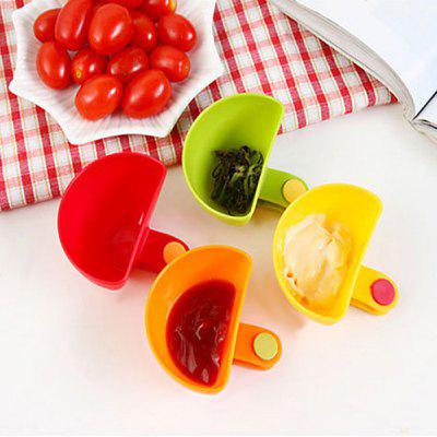 4PCS Creative Multipurpose Clamp Seasoning Dish