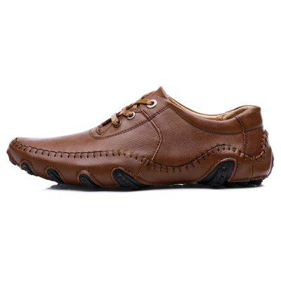 PU Leather Lace-up Casual Shoes for MenMen's Oxford<br>PU Leather Lace-up Casual Shoes for Men<br><br>Contents: 1 x Pair of Shoes<br>Function: Slip Resistant<br>Materials: PU, Rubber<br>Occasion: Casual<br>Outsole Material: Rubber<br>Package Size ( L x W x H ): 31.00 x 21.00 x 11.00 cm / 12.2 x 8.27 x 4.33 inches<br>Seasons: Autumn<br>Style: Comfortable, Casual<br>Type: Casual Leather Shoes<br>Upper Material: PU