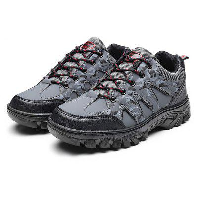 Casual Outdoor Microfiber Leather Male Sports Shoes