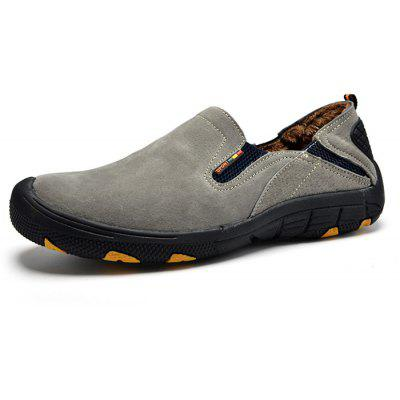 Men Comfortable Casual Slip-on Warm Suede ShoesCasual Shoes<br>Men Comfortable Casual Slip-on Warm Suede Shoes<br><br>Closure Type: Slip-On<br>Contents: 1 x Pair of Shoes<br>Function: Slip Resistant<br>Materials: Suede, Rubber<br>Occasion: Casual, Daily<br>Outsole Material: Rubber<br>Package Size ( L x W x H ): 33.00 x 22.00 x 11.00 cm / 12.99 x 8.66 x 4.33 inches<br>Pattern Type: Solid<br>Seasons: Winter<br>Style: Leisure, Comfortable, Casual<br>Toe Shape: Round Toe<br>Type: Casual Shoes<br>Upper Material: Suede