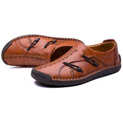 Men Stitching Outdoor Slip-on Oxford ShoesMen's Oxford<br>Men Stitching Outdoor Slip-on Oxford Shoes<br><br>Closure Type: Slip-On<br>Contents: 1 x Pair of Shoes<br>Materials: Rubber, Leather<br>Occasion: Casual, Daily, Holiday, Party<br>Outsole Material: Rubber<br>Package Size ( L x W x H ): 33.00 x 22.00 x 11.00 cm / 12.99 x 8.66 x 4.33 inches<br>Package weight: 0.8500 kg<br>Product Size  ( L x W x H ): 33.00 x 22.00 x 11.00 cm / 12.99 x 8.66 x 4.33 inches<br>Product weight: 0.7000 kg<br>Style: Leisure<br>Toe Shape: Round Toe<br>Type: Casual Leather Shoes<br>Upper Material: Leather