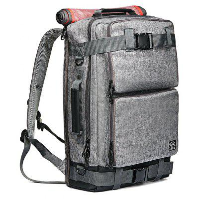 Buy KAUKKO 18.6L Multifunctional Backpack CHROME for $40.33 in GearBest store