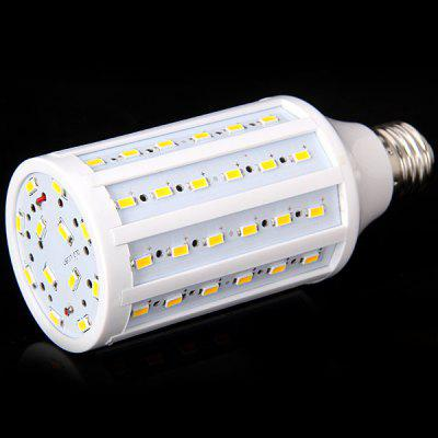 E27 20W 72 x 5730 SMD LED AC220 - 240V 1800lm White 6000 - 6500K Corn LampCorn Bulbs<br>E27 20W 72 x 5730 SMD LED AC220 - 240V 1800lm White 6000 - 6500K Corn Lamp<br><br>Available Light Color: Natural White,Warm White<br>Bulb Base Type: E27<br>Emitter Type: 5730 SMD LED<br>Features: Long Life Expectancy, Low Power Consumption, Energy Saving<br>Function: Studio and Exhibition Lighting, Commercial Lighting, Home Lighting<br>Luminous Flux: 1800lm<br>Output Power: 20W<br>Package Contents: 1 x Corn Light<br>Package size (L x W x H): 7.00 x 7.00 x 16.00 cm / 2.76 x 2.76 x 6.3 inches<br>Package weight: 0.2000 kg<br>Product size (L x W x H): 6.00 x 6.00 x 14.50 cm / 2.36 x 2.36 x 5.71 inches<br>Product weight: 0.1180 kg<br>Sheathing Material: Plastic<br>Total Emitters: 72<br>Type: Corn Bulbs<br>Voltage (V): AC 220-240