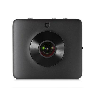 Xiaomi Mi Sphere Camera 4K Panorama Action CameraAction Cameras<br>Xiaomi Mi Sphere Camera 4K Panorama Action Camera<br><br>Aerial Photography: Yes<br>Anti-shake: Yes<br>Application: Extreme Sports, Underwater, Ski<br>Audio System: Built-in microphone/speaker (AAC)<br>Auto Focusing: No<br>Battery Capacity (mAh): 1600mAh<br>Battery lifetime (times): 500<br>Battery Type: Built-in<br>Brand: Xiaomi<br>Camera Pixel: 16MP<br>Camera Timer: Yes<br>Charge way: USB charge by PC<br>Charging Time: 2h<br>Chipset: Ambarella A12<br>Chipset Name: Ambarella<br>Features: Mini<br>Function: Loop-cycle Recording<br>Image Format: JPEG<br>Language: English,Simplified Chinese,Traditional Chinese<br>Lens Diameter: F2.0<br>Loop-cycle Recording: Yes<br>Max External Card Supported: Micro SD 128G (not included)<br>Microphone: Built-in<br>Model: Mi Sphere Camera<br>Night vision: No<br>Operating Temp.: -10 - 45 Deg.C<br>Package Contents: 1 x Xiaomi Mi Sphere Camera 4K Panorama Action Camera, 1 x USB Cable ( 93cm ), 1 x Tripod, 1 x Pouch<br>Package size (L x W x H): 13.20 x 11.30 x 6.00 cm / 5.2 x 4.45 x 2.36 inches<br>Package weight: 0.3500 kg<br>Product size (L x W x H): 7.80 x 6.80 x 2.20 cm / 3.07 x 2.68 x 0.87 inches<br>Product weight: 0.1070 kg<br>Sensor size (inch): 1/2.3<br>Standby time: 2h<br>Time lapse: Yes<br>Type: Sports Camera<br>Type of Camera: 4K, 360°Panorama<br>Video format: H.264<br>Video Frame Rate: 30FPS,60FPS<br>Video Resolution: 2048 x 512 ( 120fps ),2304 x 1152 ( 30fps ),2304 x 1152 ( 60fps ),3456 x 1728 ( 30fps ),3840 x 1920 ( 30fps )<br>Waterproof: Yes<br>Waterproof Rating: IP67<br>Wide Angle: 190 degree wide angle<br>WIFI: Yes<br>WiFi Distance: 50m<br>Working Time: 75 minutes panaromic video at 4K in WiFi