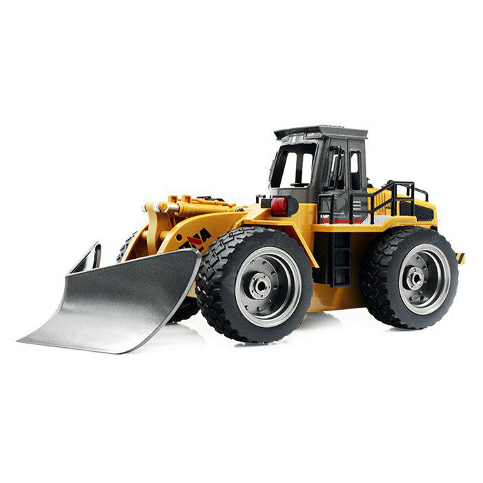 HUINA TOYS 1586 1:18 2.4GHz 6CH RC Alloy Snowplow - RTR