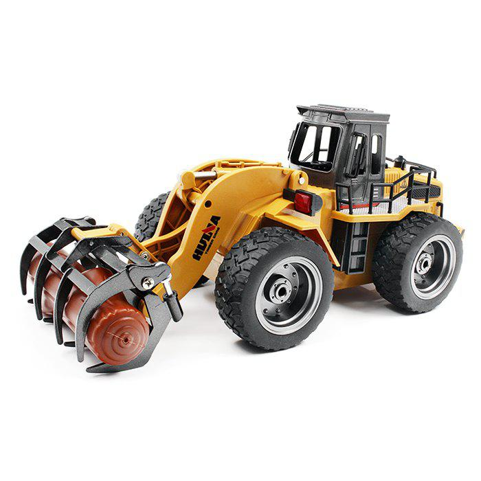 HUINA TOYS 1590 1:18 6CH RC Alloy Timber Grab Truck - RTR