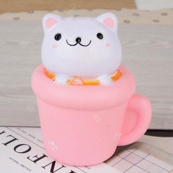Lovely Cat Style PU Jumbo Squishy Toy