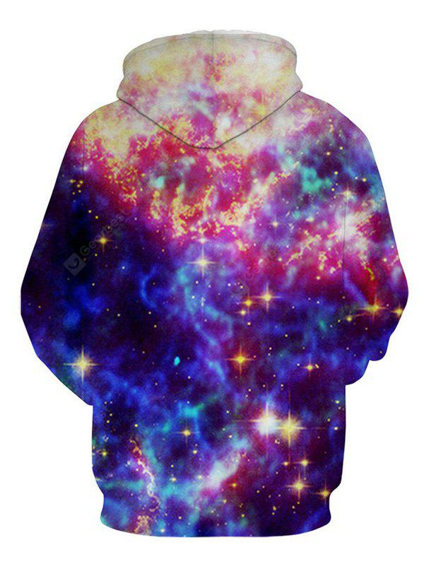 Cool 3D Star Printing Confortable Cool Male Hoodie