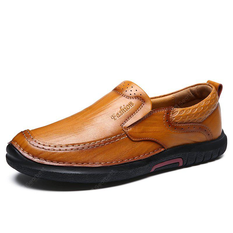 Men All-match Casual Business Slip-on Leather Shoes