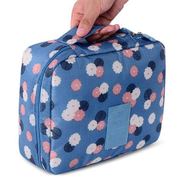 Korean Style Waterproof Nylon Organizer Bag for Travel