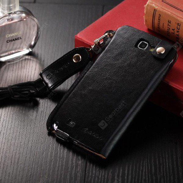 Business Style PU Leather Protective Case Cover for Samsung Galaxy Note 2 N7100