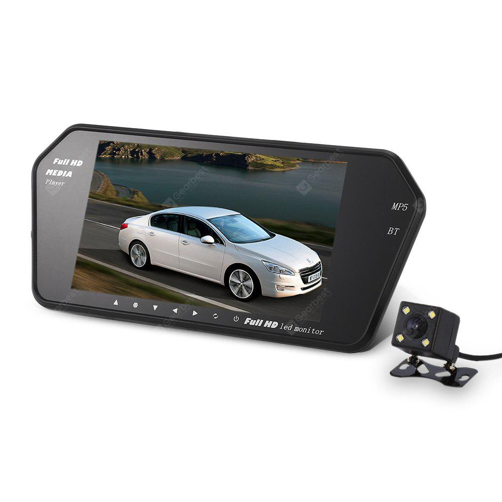 Image result for KELIMA 7 inch Bluetooth Car Rearview Camera MP5 Display