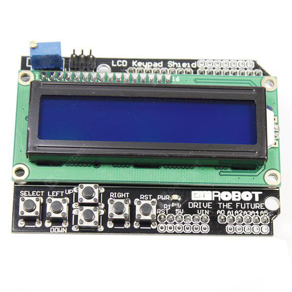 2.5 inch Blue LCD Screen Funduino IIC / I2C 1602 LCD Display Module Board