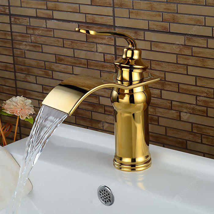 LING HAO HL - 122 Single Handle Waterfall Bathroom Faucet