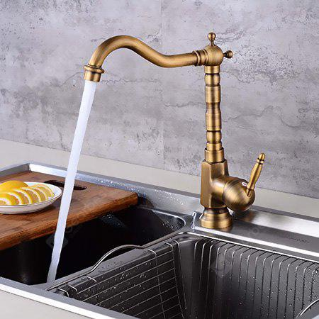 LING HAO HL - 165 Single Handle Rotatable Kitchen Faucet