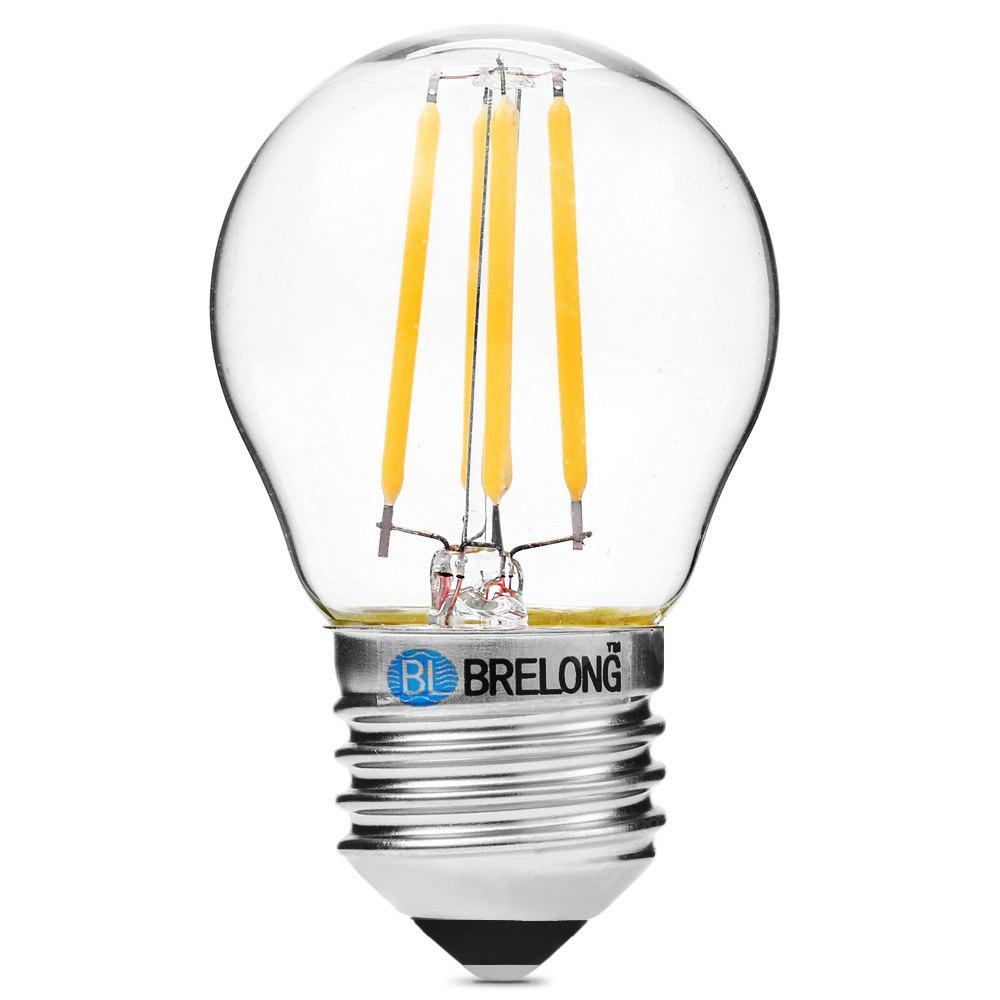 BRELONG G45 E27 4W COB 360Lm Ampoule Edison à LED Dimming