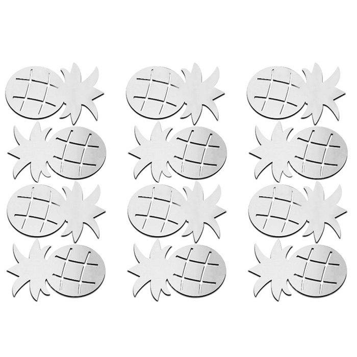 YS - 62 Creative DIY Ananas Sticker 12pcs