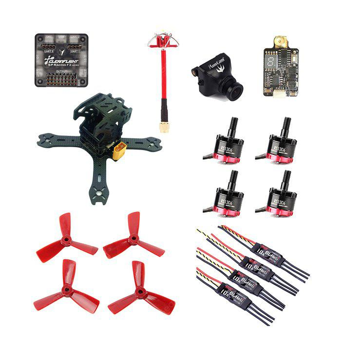 GB - 130 de Fibra de Carbono Kit de DIY de Marco de RC Racing Aviones no Tripulados