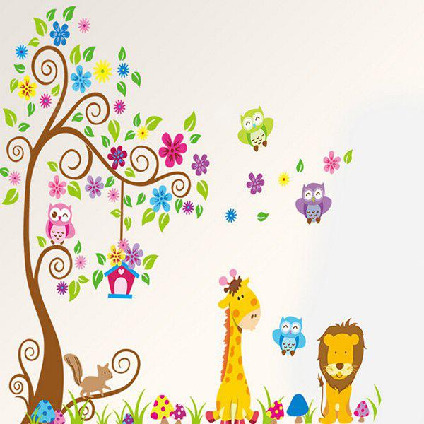 COLORMIX Cartoon Removable Waterproof Wall Sticker
