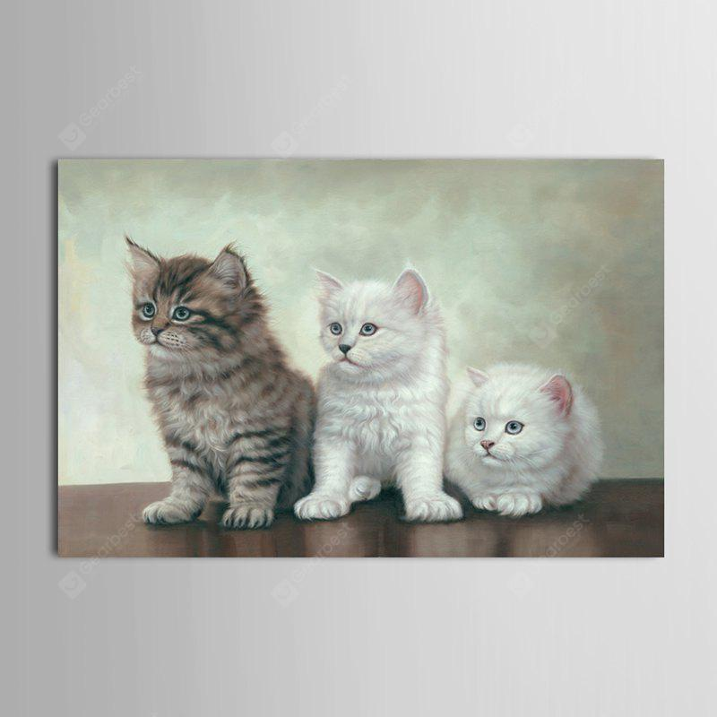 Mintura 1PC Unframed Prints Modern Canvas Cats Wall Art