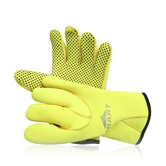 SBART Adults Water Resistant Diving Gloves for Water Sport