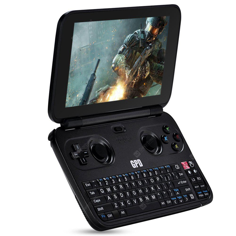 GPD WIN Handheld PC Game Console - BLACK METAL FRONT COVER  (entrepôt EU-6)