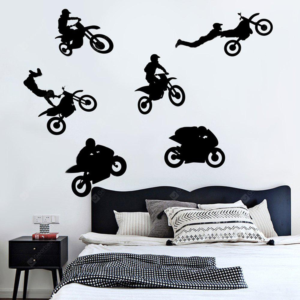 Creative Household Extreme Motorcycle Rider Wall Sticker
