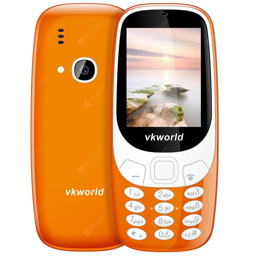 DARKSALMON Vkworld Z3310 Quad Band Unlocked Phone