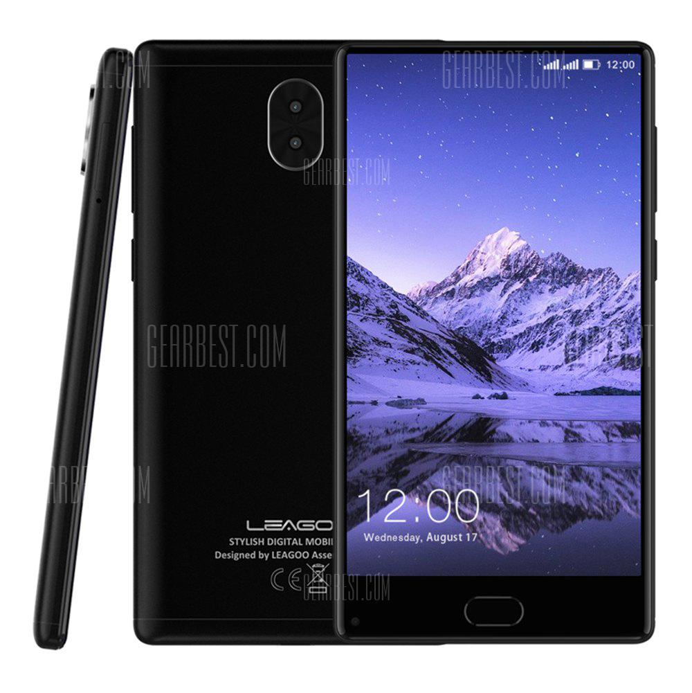 Buy LEAGOO KIICAA MIX 4G Phablet BLACK at GearBest ...
