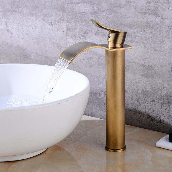 LING HAO HL - 109 Waterfall Bathroom Sink Faucet