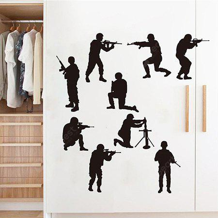 Creative Household Soldier Wall Sticker