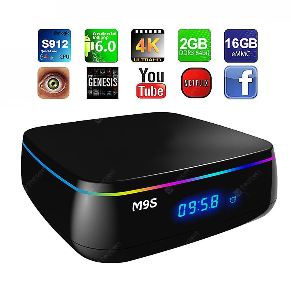 M9S MIX Smart TV Android Scatola