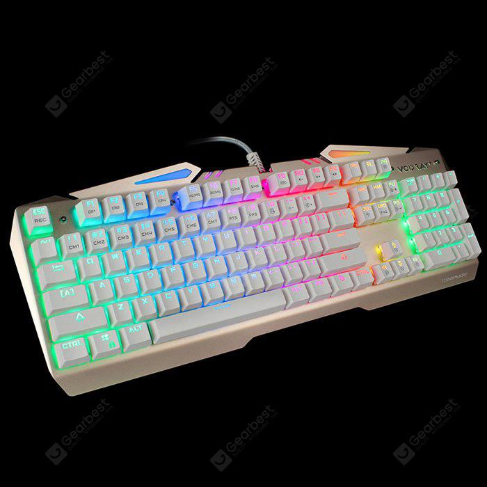 Team Wolf X01S NKRO CIY Wired USB Mechanical Keyboard with LED Indicator