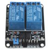 2 Channel 5V Relay Module for SCM Development / Home Appliance Control - BLUE