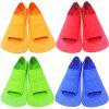 ZOKE Silicone Short Swimming Fins for Adults - BLUE