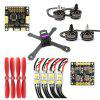 Flycolor GB210 DIY Frame Kit RC Racing Drone - COLORMIX