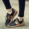 Summer Breathable Air-mesh Glossy Casual Shoes - GOLDEN