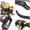 UltraFire U - 336 Zooming LED Headlamp - BLACK AND GOLDEN