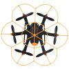 WLtoys Q383 - C Mini RC Hexacopter - RTF - BLACK AND ORANGE