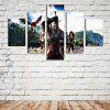 4PCS Game Character Printing  Canvas Print Unframed Wall Art - COLORMIX