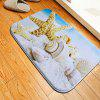 Shell Starfish Flannel Doormat Rug Mat - COLORMIX