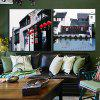 2pcs Wuzhen Landscape Printing Canvas Wall Decoration - MULTI