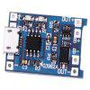 MP1405 5V 1A Lithium Battery Charging Board Keeping Welding Spot - BLUE