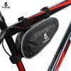 YANHO YA009 Triangle Cycling Bag - BLACK