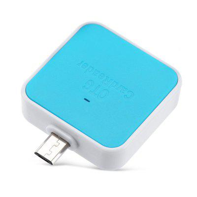 OTG Smart Card Reader Connection KitTablet Accessories<br>OTG Smart Card Reader Connection Kit<br><br>Accessory type: Card Reader<br>For: Laptop, Mobile phone, Tablet PC<br>Package Contents: 1 x OTG Smart Card Reader<br>Package size (L x W x H): 14.00 x 8.00 x 2.30 cm / 5.51 x 3.15 x 0.91 inches<br>Package weight: 0.0200 kg<br>Product size (L x W x H): 4.50 x 3.50 x 1.10 cm / 1.77 x 1.38 x 0.43 inches<br>Product weight: 0.0090 kg