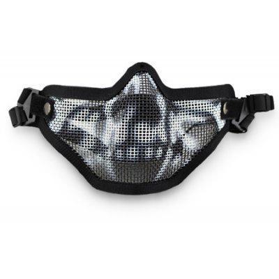 CTSmart MA - 09 Multifunctional Steel Mesh Half-face Mask